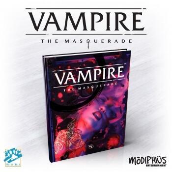 Vampire: The Masquerade 5th Edition Core Rulebook er reglsættet