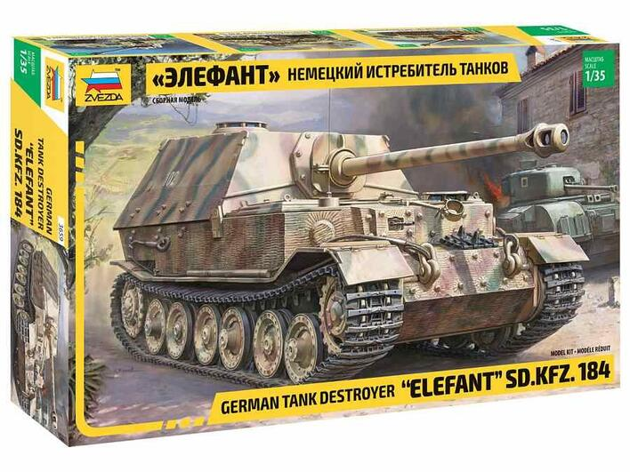ELEFANT SD.KFZ.184 1/35 er en fed tank