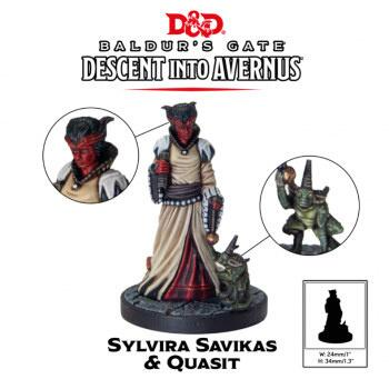 D&D Descent into Avernus - Sylvira Savikas