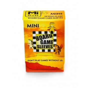 Board Games Sleeves - Non-Glare - Mini (41x63mm) - 50 Stk