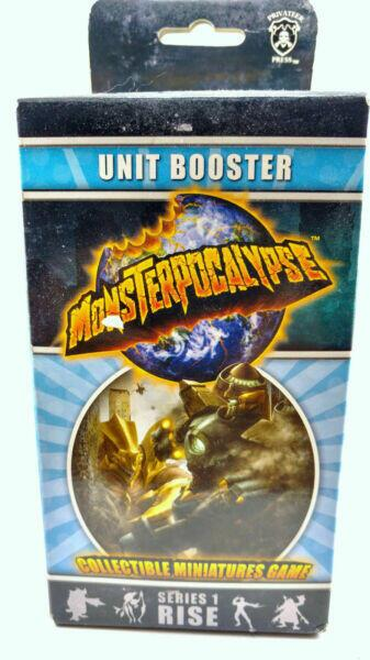Monsterpocalypse: Unit Booster Series 1 Rise - expansion med flere units