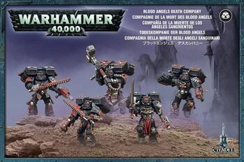 Blood Angels Space Marines Death Company