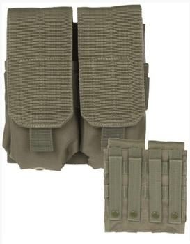 Double M4/M16 Mag Pouch Oliven