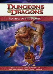 Dungeons And Dragons (D&D) 4th Edition -Manual of the Planes