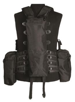 Indsatsvest TACTICAL (12 TA.) Sort