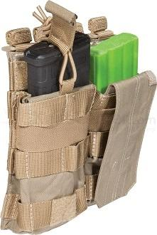 M4 Mag Lomme, Single, Tan