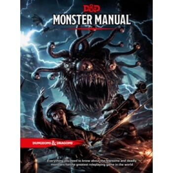 Dungeons & Dragons RPG - Monster Manual