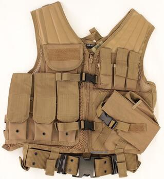 USMC Tactical Vest Tan