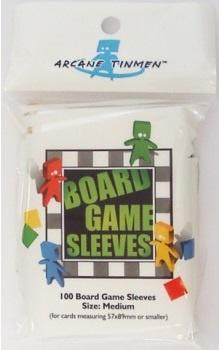 Board Games Sleeves - Medium (Green) (57x89mm) - 100 Pcs