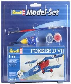 Model set Fokker D VII