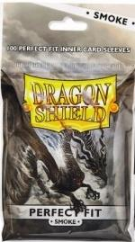 Dragon Shield Standard Perfect Fit Sleeves - Clear/Smoke 100 stk