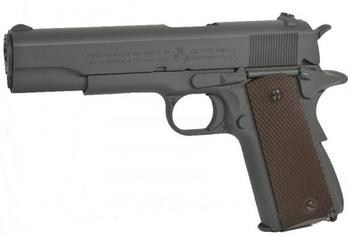 Colt 1911 Parkerized Grey, Co2 Blowback
