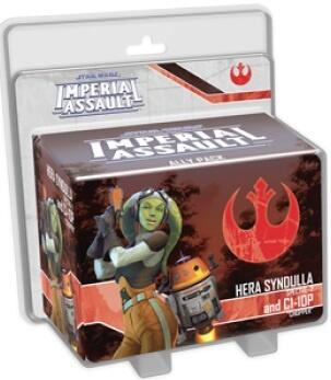 Star Wars: Imperial Assault: Hera Syndulla and C1-10P Ally Pack