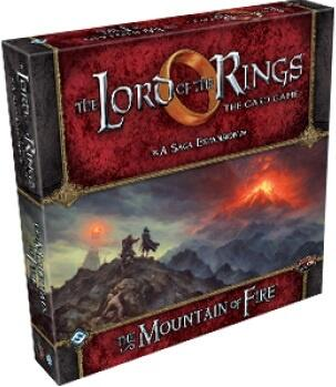 Lord of the Rings LCG: Mountain of Fire Saga Expansion