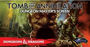 D&D: Tomb of Annihilation Dungeon Master's Screen