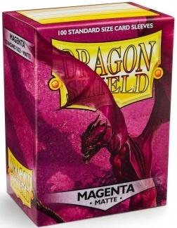 Dragon Shield - Magenta - 100 stk