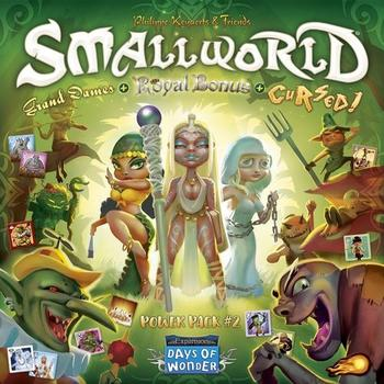 Small World Power Pack 2: Cursed, Grand Dames & Royal