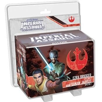 Star Wars: Imperial Assault Ezra Bridger and Kanan Jarrus Ally