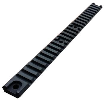 AM-013 Full Length Accessory Rail - Black