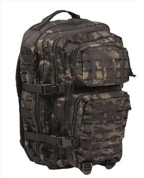 US ASSAULT PACK LG LASER CUT MULTIT.BLK