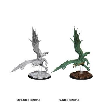 D&D Nolzur's Marvelous Miniatures - Young Green Dragon