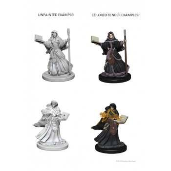 D&D Nolzur's Marvelous Unpainted Miniatures - Human Female Wizard