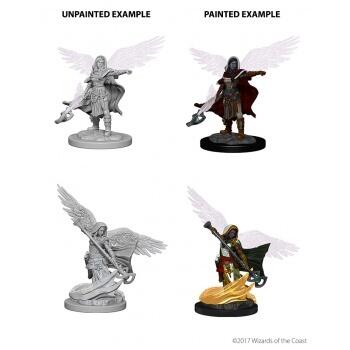 D&D Nolzur's Marvelous Miniatures - Aasimar Female Wizard
