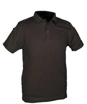 Tactical Quick Dry Polo T-shirt - Sort - Str. XL
