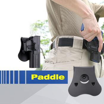 Hardball Paddle Mount, Polymer - Sort