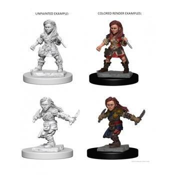 D&D Nolzur's Marvelous Miniatures - Halfling Female Rogue
