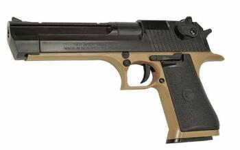 Desert Eagle .50AE Rail - Tan/Sort