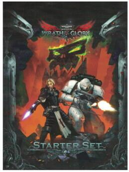 Warhammer 40,000 Roleplay Wrath & Glory: Starter Sæt