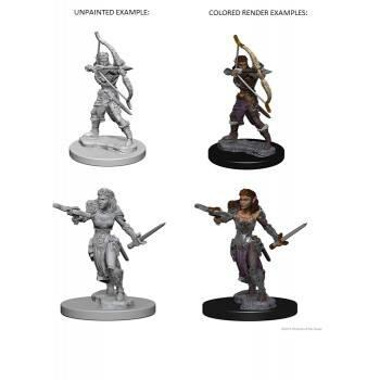 D&D Nolzur's Marvelous Unpainted Miniatures - Elf Female Ranger