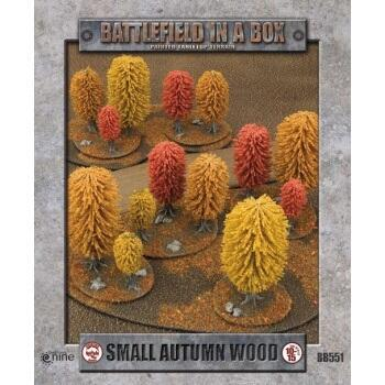 Battlefield In A Box - Small Autumn Wood