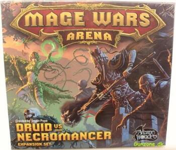 Mage Wars Arena: Druid vs Necromancer Expansion Set