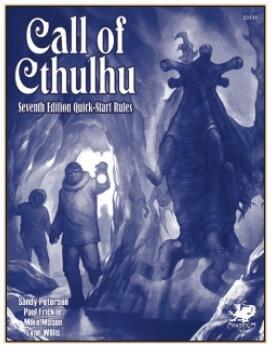 Call of Cthulhu - 7th Edition Quick-Start Rules