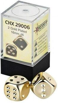 Chessex Specialty: Guld D6 Terninger