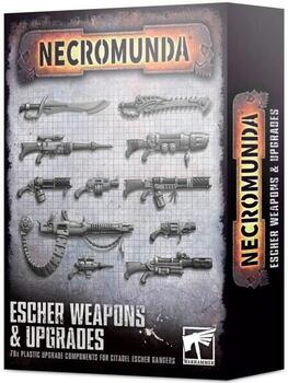 Escher Weapons & Upgrades